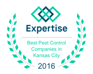 We we awarded one of the best Pest Control Company in Kansas City 2016
